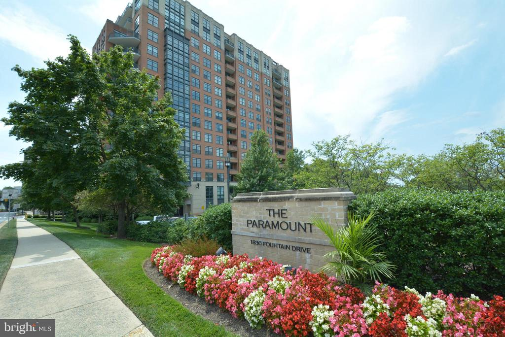 Front View - 1830 FOUNTAIN DR #1208, RESTON