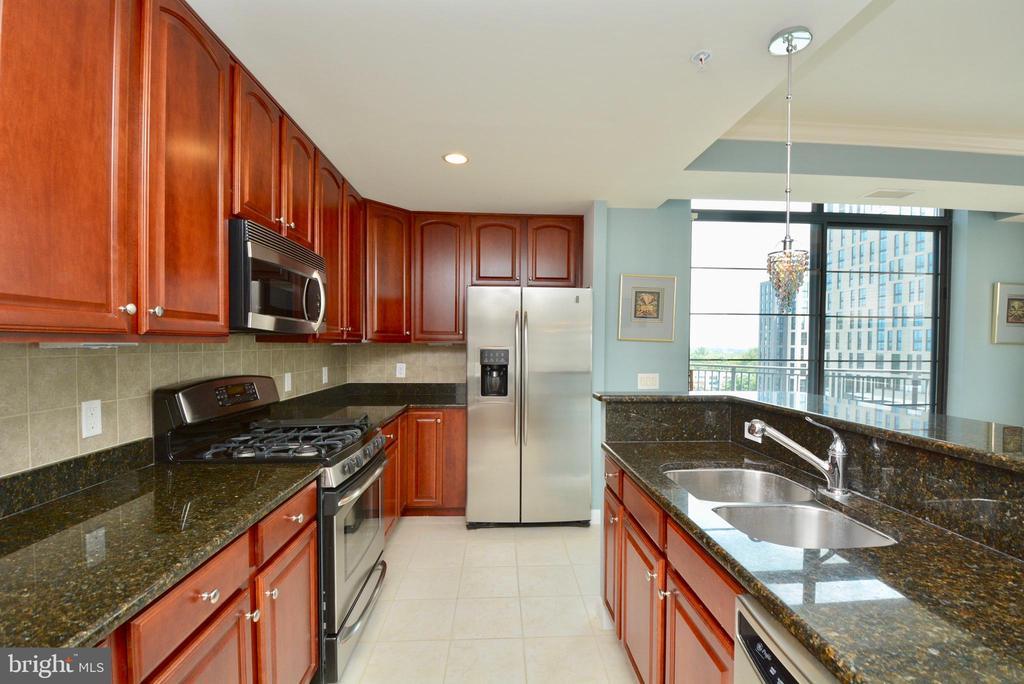Kitchen - 1830 FOUNTAIN DR #1208, RESTON