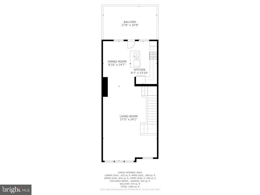 Main Level - Open Floorpan - 12079 CHANCERY STATION CIR, RESTON