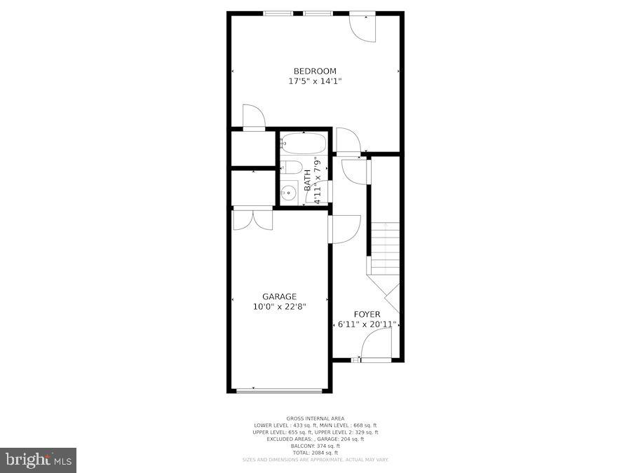 Lower Level with 3rd Bedroom/Rec Toom - 12079 CHANCERY STATION CIR, RESTON