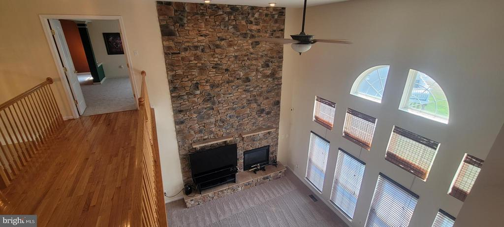 Family Room From Catwalk - 11005 LAKE DEBORAH CT, BOWIE
