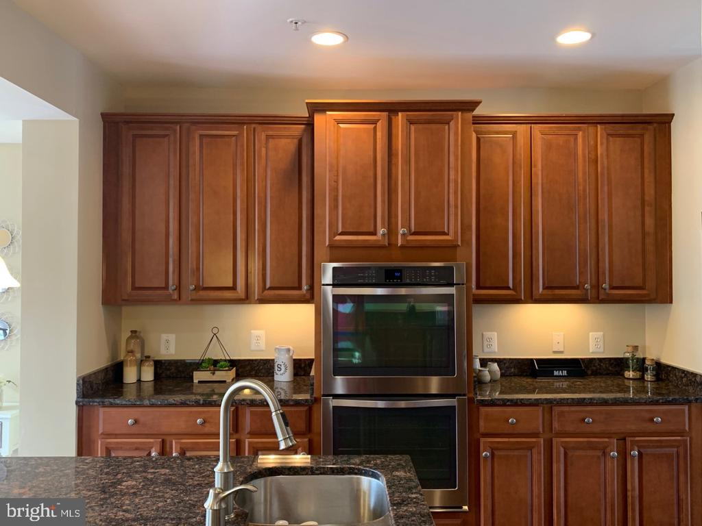 Double Wall Ovens and under cabinet lighting - 19383 NEWTON PASS SQ #R06V, LEESBURG
