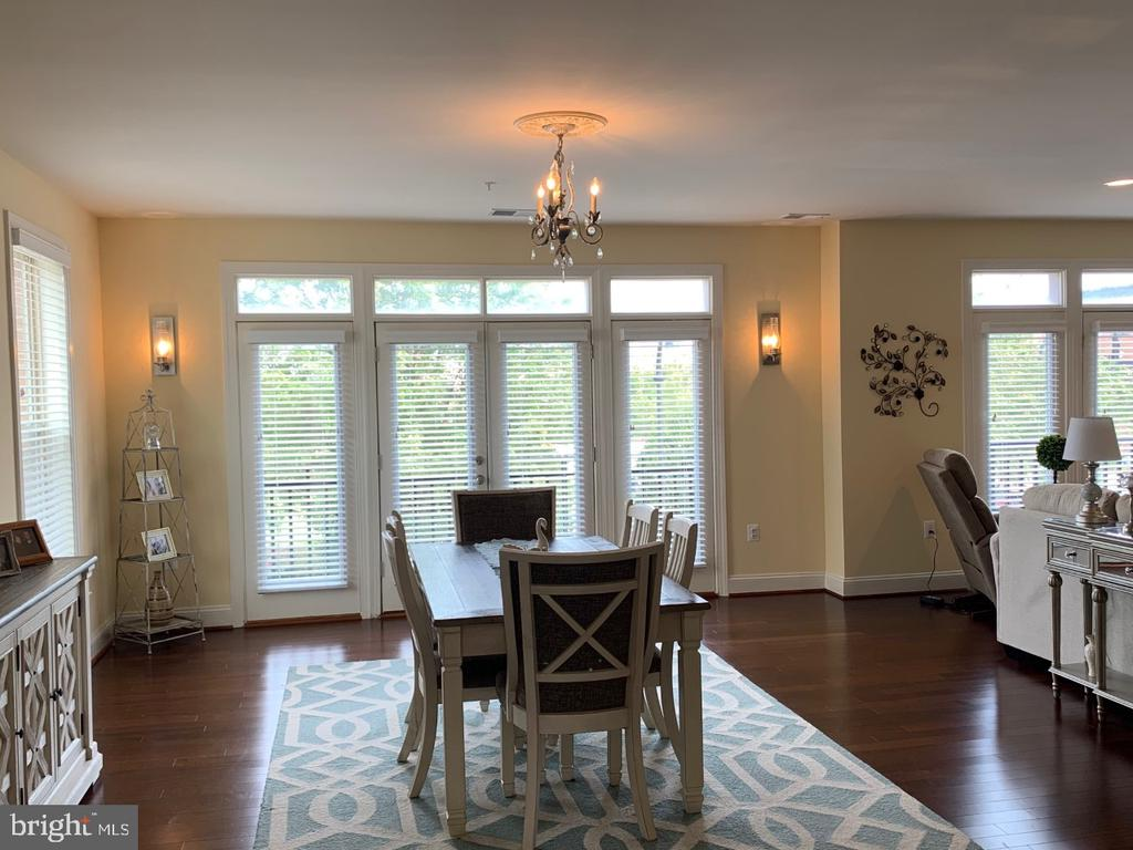 Banquet sized dining room - 19383 NEWTON PASS SQ #R06V, LEESBURG