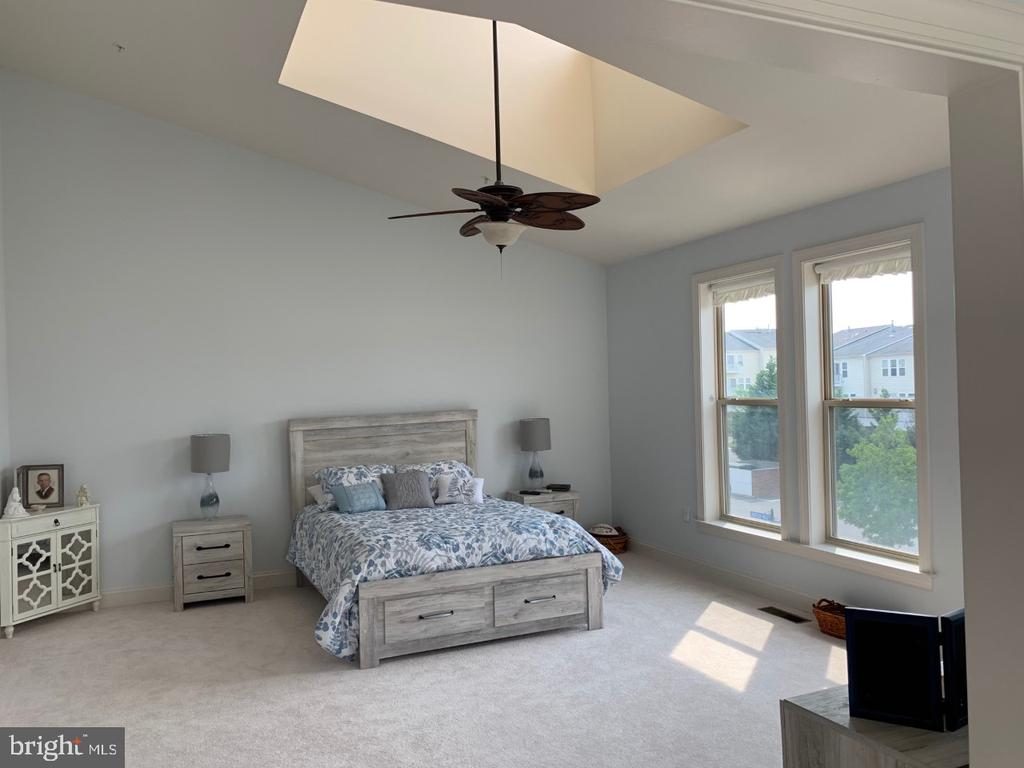 Vaulted ceilings with skylight - 19383 NEWTON PASS SQ #R06V, LEESBURG