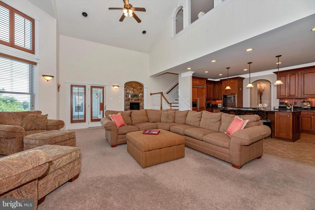 Two-Story Great Room - 7525 OLD RECEIVER RD, FREDERICK