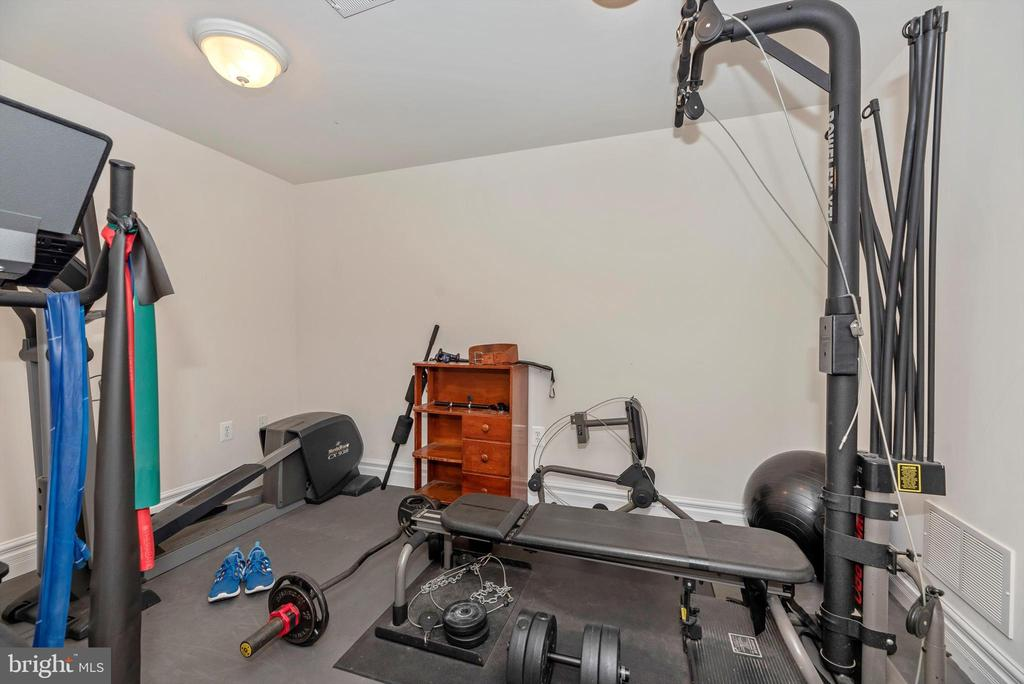 Home Gym - Basement - 7525 OLD RECEIVER RD, FREDERICK