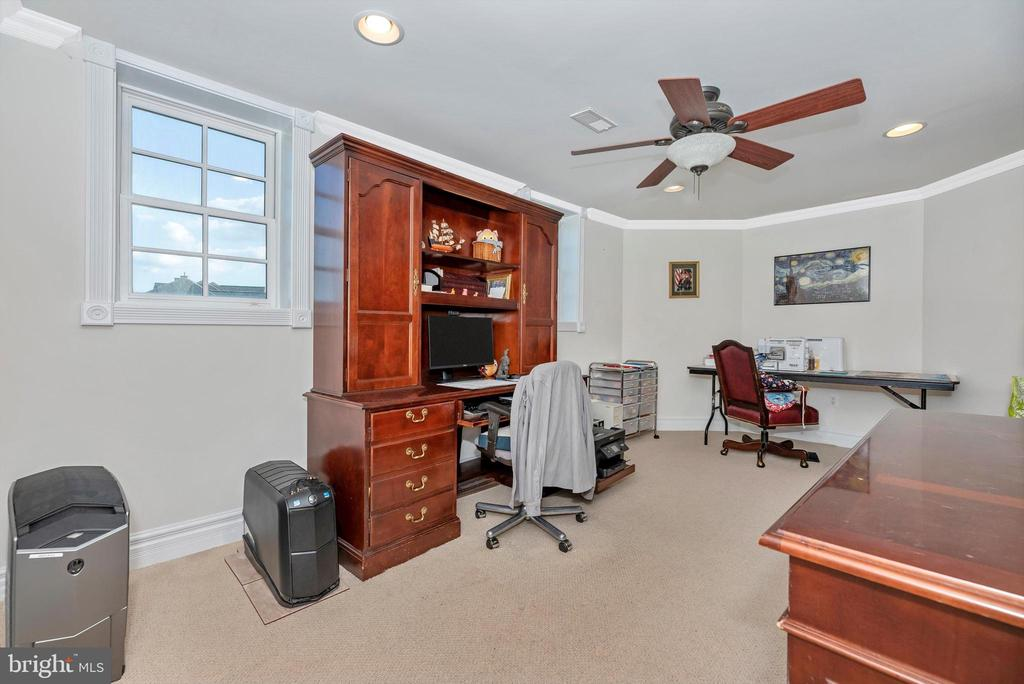 Home Office/Bedroom #6 - Basement. - 7525 OLD RECEIVER RD, FREDERICK