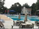 Community pool - 9530 BUTTONBUSH CT, MANASSAS