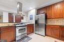 Kitchen - 5609 S QUAKER LN, ALEXANDRIA