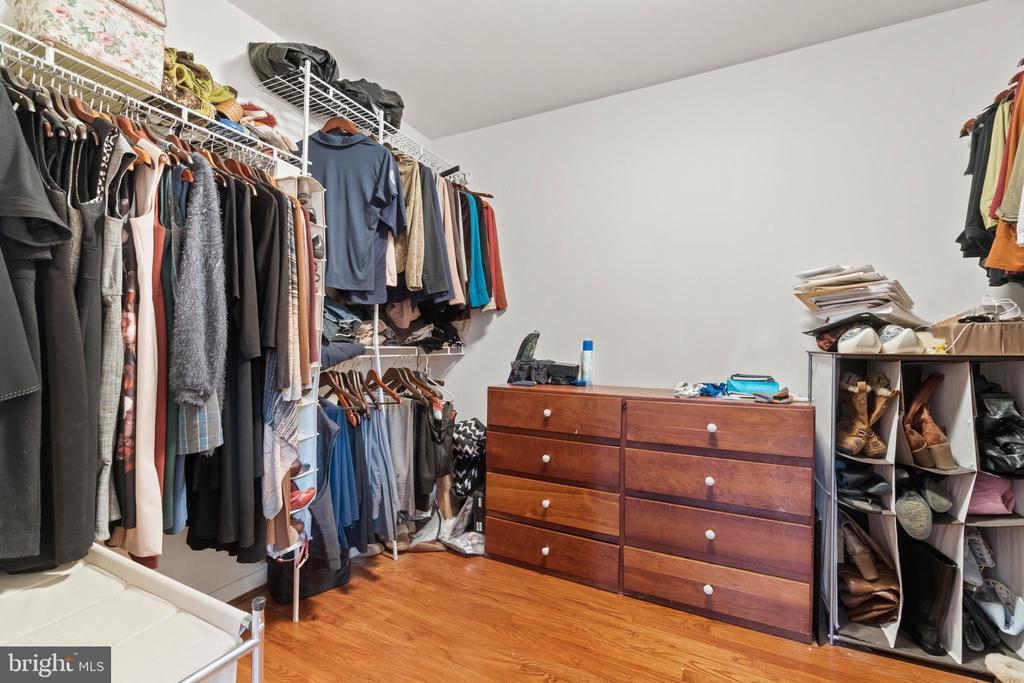 Master Walk-In Closet - 5609 S QUAKER LN, ALEXANDRIA