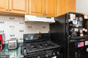 Kitchen with gas stove - 4800 FLOWER LN, ALEXANDRIA