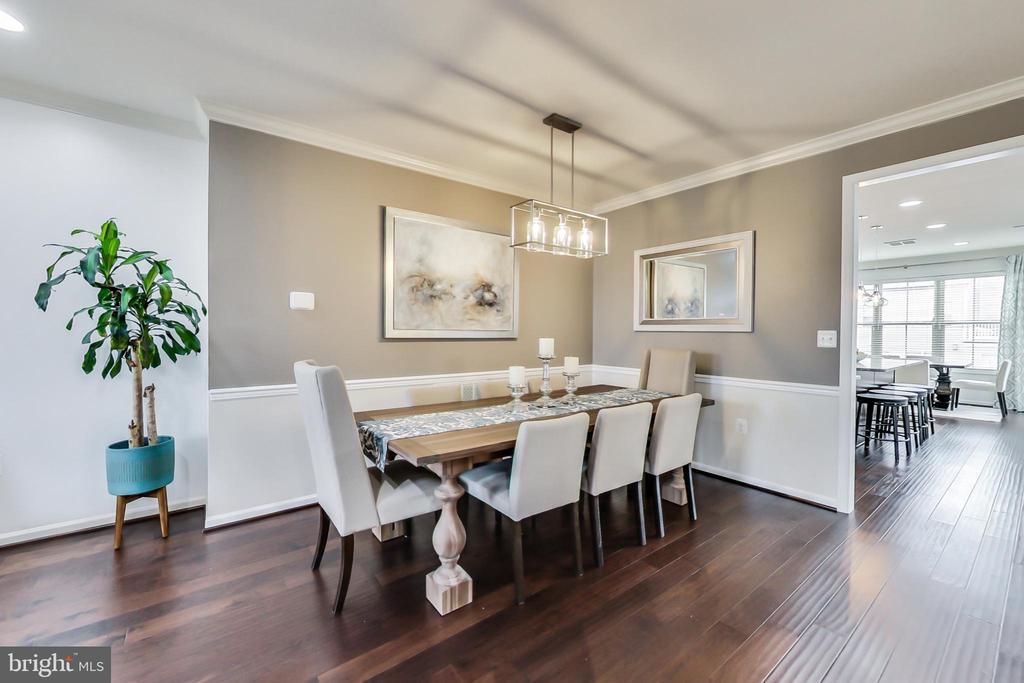 Formal dining room - 23636 SAILFISH SQ, BRAMBLETON
