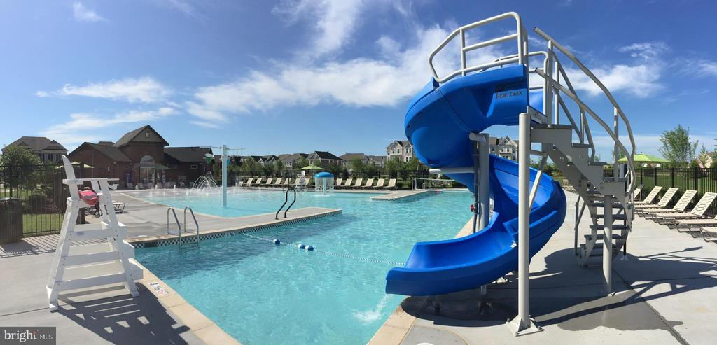 One of the 4 Community Pool Complexes - 23636 SAILFISH SQ, BRAMBLETON