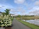 Plenty of scenic walking trails - 23636 SAILFISH SQ, BRAMBLETON