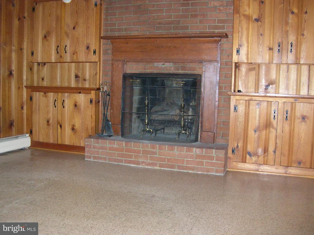 Plenty of storage around the fireplace - 703 WYNGATE DR, FREDERICK