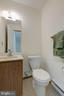 Powder Room on the main level - 1534 YOUNGS POINT PL, HERNDON