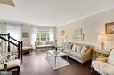 Sunny Living Room - 12079 CHANCERY STATION CIR, RESTON