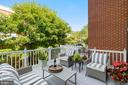 This Deck gets all the sun in the morining - 12079 CHANCERY STATION CIR, RESTON