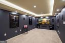 Movie room with sorround sound system! - 11736 ROCKAWAY LN #101, FAIRFAX