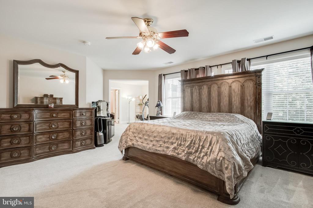 Primary bedroom - 23247 CHRISTOPHER THOMAS LN, BRAMBLETON