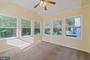 Enclosed porch for additional space - 15 SARRINGTON CT, STAFFORD