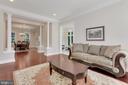 Formal Living Room. - 11400 ALESSI DR, MANASSAS