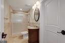 Full Bath in the Basement - 11400 ALESSI DR, MANASSAS