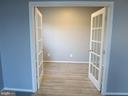 Light filled Office with French doors - 11139 EAGLE CT, BEALETON