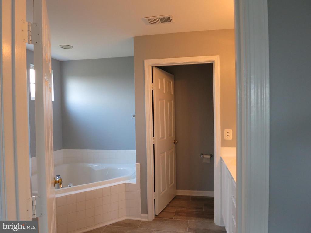 Separate tub in the master bath - 11139 EAGLE CT, BEALETON