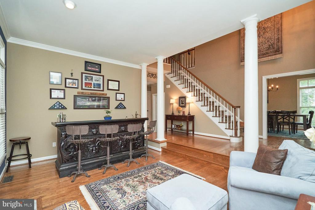 View to Stairs Up - 4291 LAWNVALE DR, GAINESVILLE