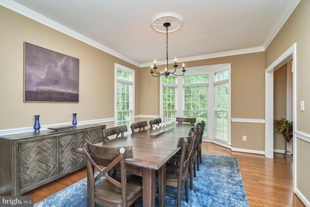 Dining Room with View to Rear Yard - 4291 LAWNVALE DR, GAINESVILLE