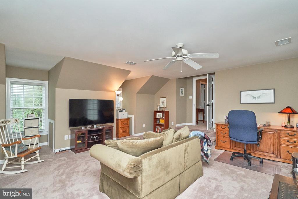 Bonus Room with Ceiling Fan - 4291 LAWNVALE DR, GAINESVILLE