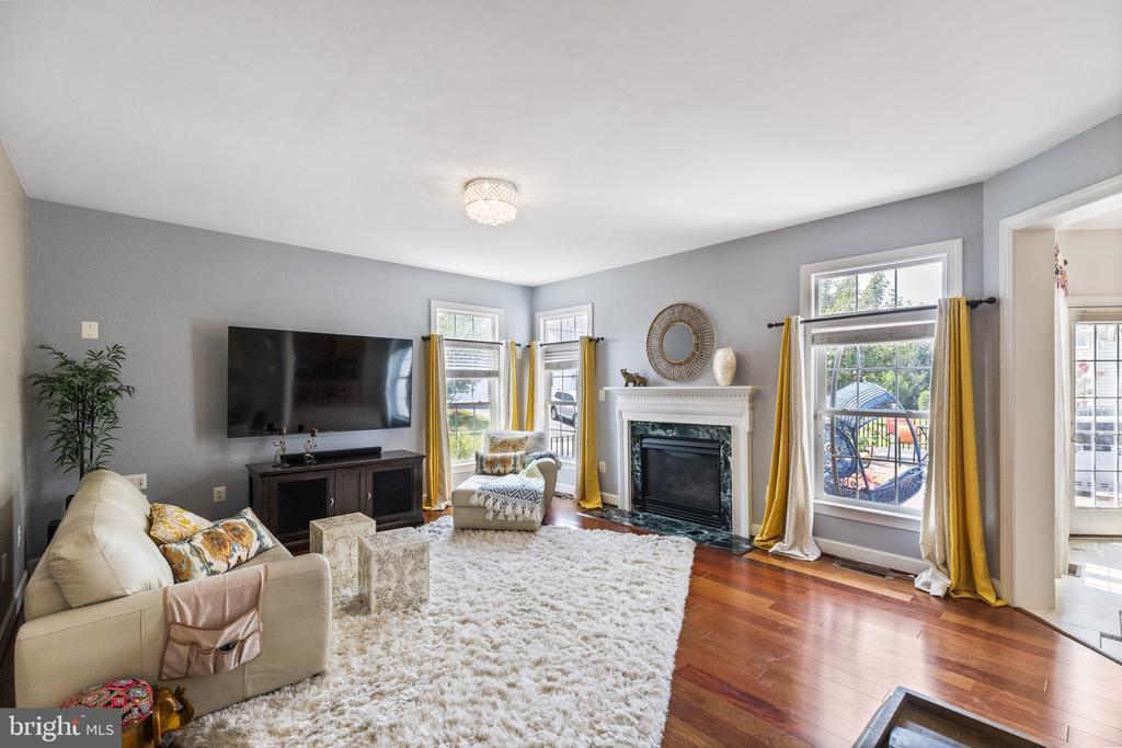 So Cozy & Bright Family Room  on Main  Level - 23084 PECOS LN, BRAMBLETON