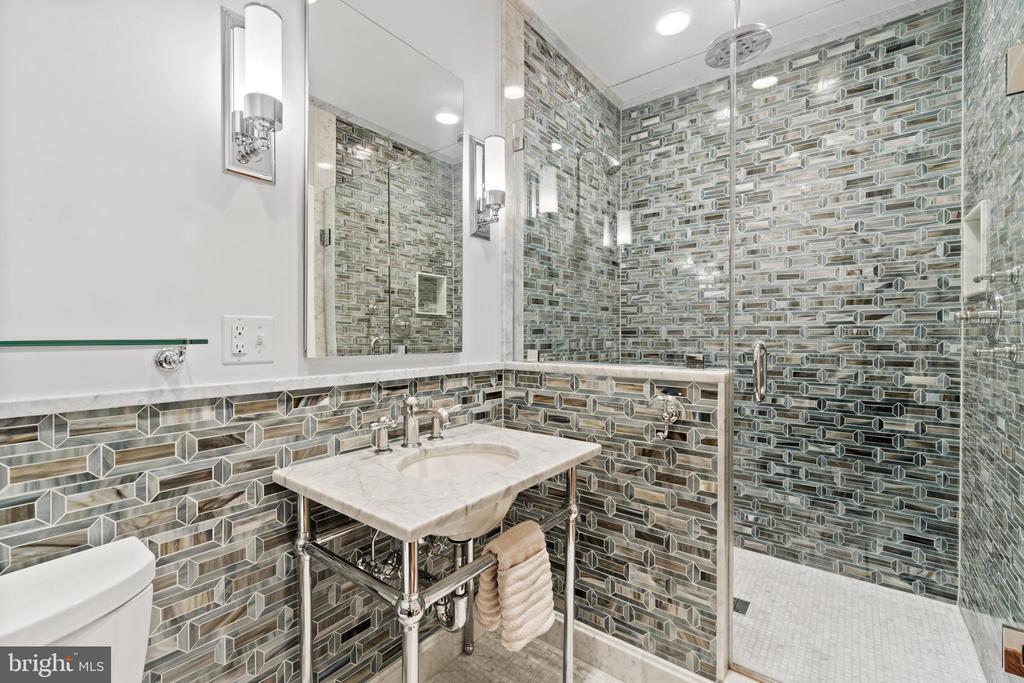 Second primary bathroom - 3026 P ST NW, WASHINGTON