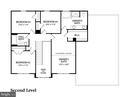 Upper Level Floor Plan - 303 TIGER WAY, BOONSBORO