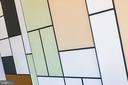 Art looking closet doors - 1120 GUILFORD CT, MCLEAN