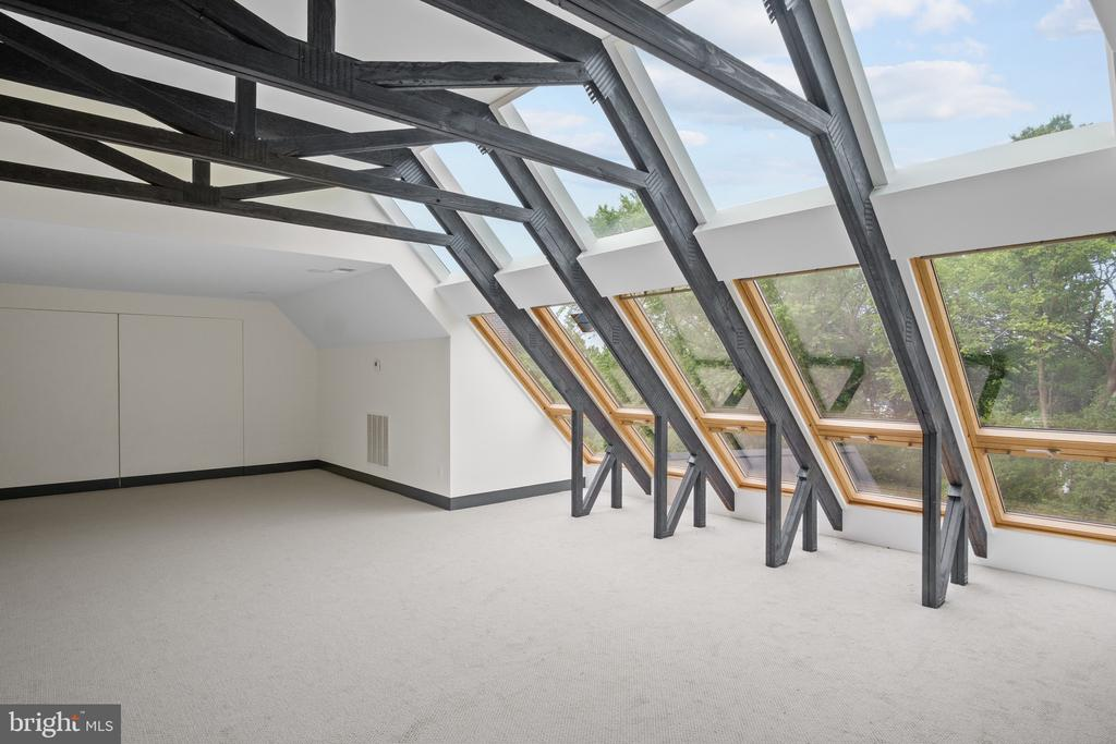 Skylight wall - 1120 GUILFORD CT, MCLEAN