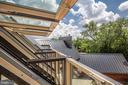 Juliet balcony skylights - 1120 GUILFORD CT, MCLEAN