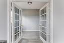 Office with french doors - 11139 EAGLE CT, BEALETON