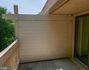 Balcony - 5761 REXFORD CT #S, SPRINGFIELD