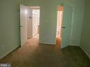Master bedroom to walk-in closet and master bath - 5761 REXFORD CT #S, SPRINGFIELD