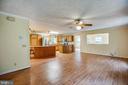 Living Room - 15060 LESTER LN, MILFORD