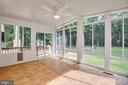Sunroom with split HVAC system - 15060 LESTER LN, MILFORD