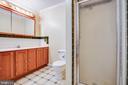 Primary Bath - 15060 LESTER LN, MILFORD