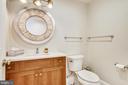 Lower level bath powder room - 3038 N PEARY ST, ARLINGTON