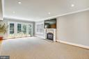 French doors to outside  Great daylight - 3038 N PEARY ST, ARLINGTON
