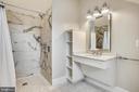 Roll in shower , wheel chair vanity  Handicap BR - 3038 N PEARY ST, ARLINGTON