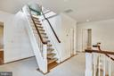 Stairs to 4th level - 3038 N PEARY ST, ARLINGTON