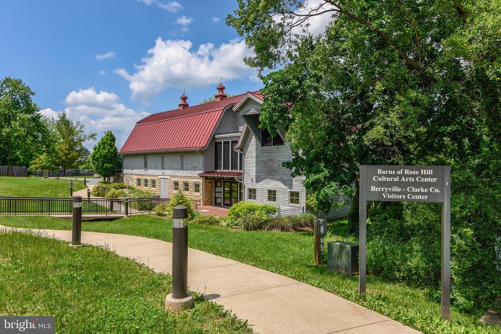 Barns of Rose Hill Music & Arts Center - 114 S BUCKMARSH ST, BERRYVILLE