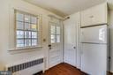 kitchen toward sunroom - 114 S BUCKMARSH ST, BERRYVILLE